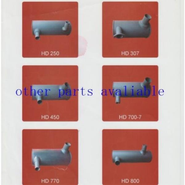 6208-11-5210 MUFFLER FITS FOR KOMATSU PC130-7 SAA4D95-3 #8 image