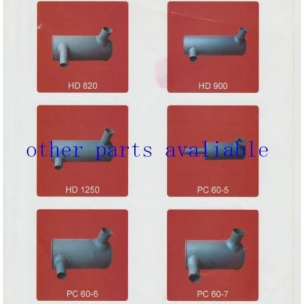 6208-11-5210 MUFFLER FITS FOR KOMATSU PC130-7 SAA4D95-3 #9 image