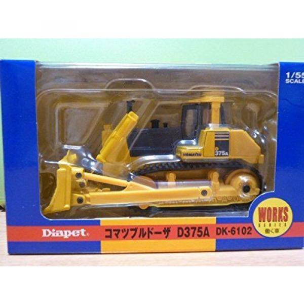 KOMATSU Official DK-6102 Bulldozer D375A 1/55 Scale Model Heavy Equipment New #2 image
