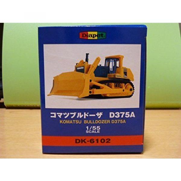 KOMATSU Official DK-6102 Bulldozer D375A 1/55 Scale Model Heavy Equipment New #6 image