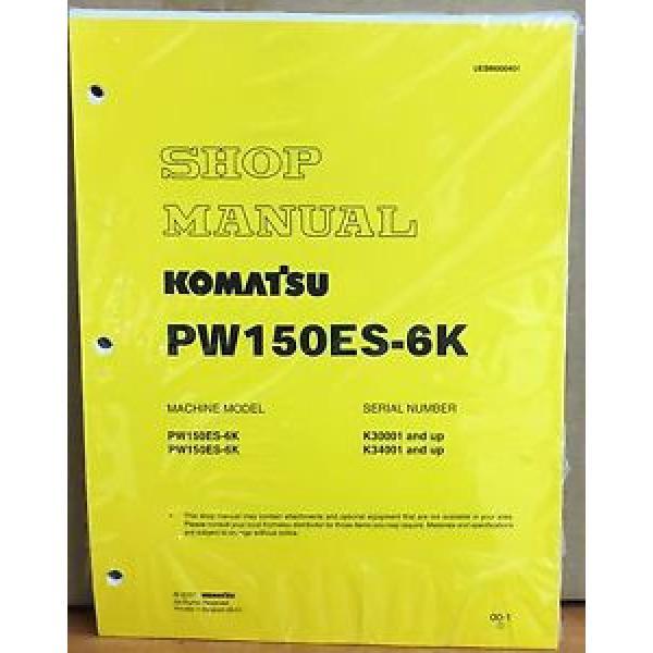Komatsu Service PW150ES-6K Excavator Shop Manual NEW REPAIR #1 image