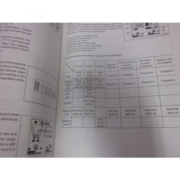 Komatsu BR380JG-1 Mobile Crusher Operation & Maintenance Manual s/n 1001 & Up #2 image