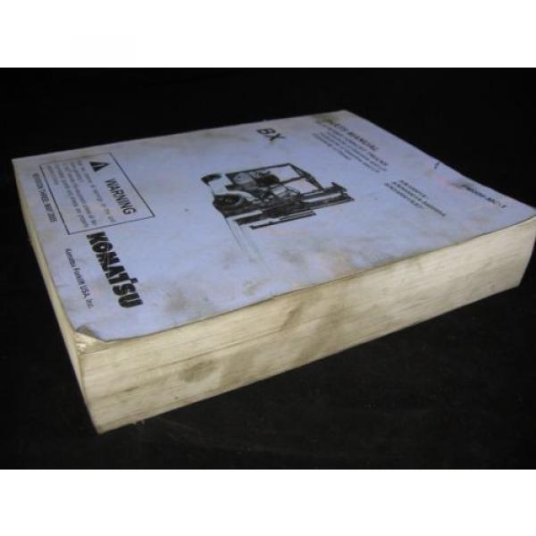 Komatsu Forklift BX-12 Series Parts Manual Book Catalog Lift Truck BX 12 OEM #3 image