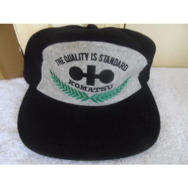 VINTAGE KOMATSU CAP- 1980/90'S ERA #1 image