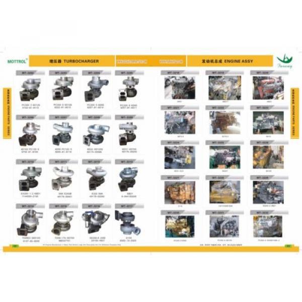 HX35W 4044890 4039633 TURBOCHARGER FITS KOMATSU PC220-8 PC240-8 SAA6D107E #3 image