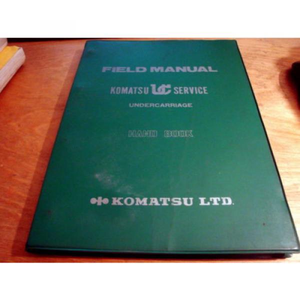 Komatsu KUC Undercarriage Field Manual Hand Book Manual #1 image