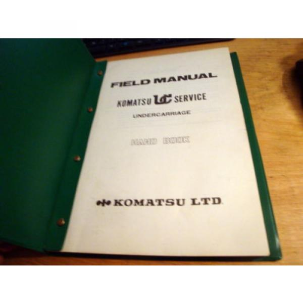 Komatsu KUC Undercarriage Field Manual Hand Book Manual #2 image