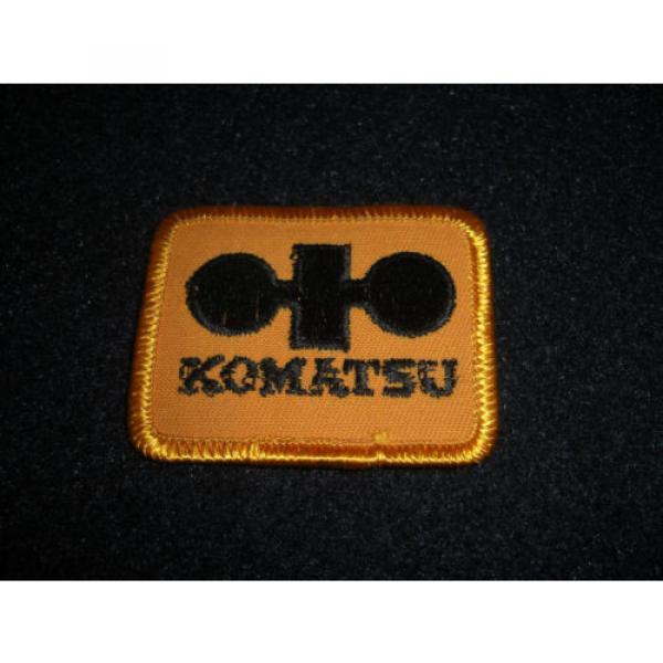 Komatsu Patch 1980's Original #1 image