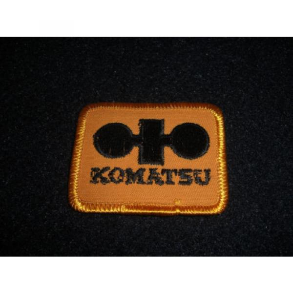 Komatsu Patch 1980's Original #2 image