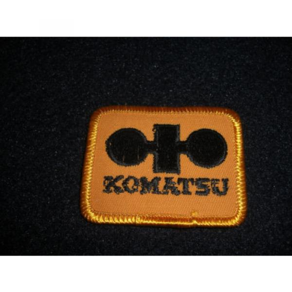 Komatsu Patch 1980's Original #3 image