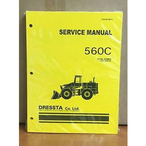 Komatsu Dressta 560C Wheel Loader Shop Service Repair Manual #1 image