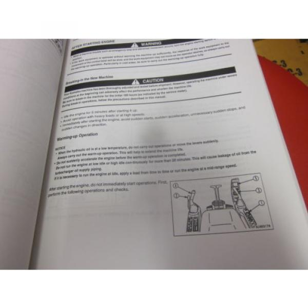 Komatsu PC138US-2 PC138USLC-2 Hydraulic Excavator Operation & Maintenance Manual #2 image