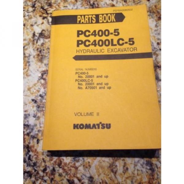 Komatsu PC400-5, PC400LC-5 Hydraulic Excavator Volume II #1 image