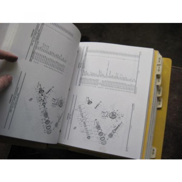 Pair of OEM Komatsu WA250PT-3MC PARTS and SHOP REPAIR SERVICE Manual Books #7 image