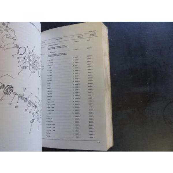 Komatsu PC220-3, PC220LC-3 Hydraulic Excavator Parts Book  PEPB02060300 #6 image