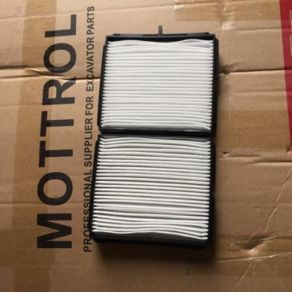 20Y-979-6261  CABIN AIR FILTER FITS FOR KOMATSU PC200-7 PC220-7 PC160-7 PC350-7 #1 image