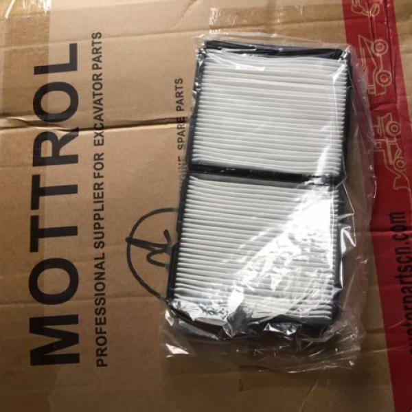 20Y-979-6261  CABIN AIR FILTER FITS FOR KOMATSU PC200-7 PC220-7 PC160-7 PC350-7 #2 image