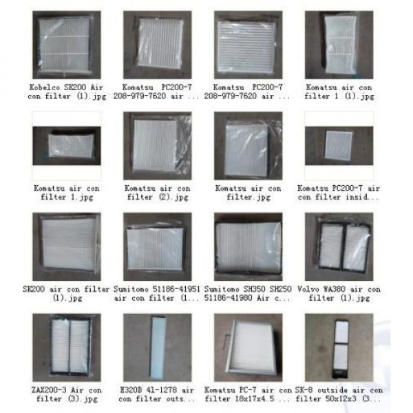 20Y-979-6261  CABIN AIR FILTER FITS FOR KOMATSU PC200-7 PC220-7 PC160-7 PC350-7 #4 image
