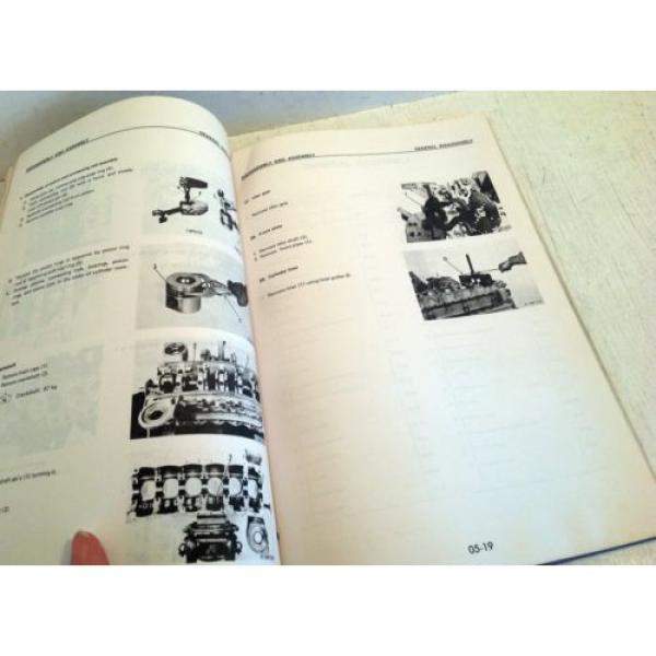 Komatsu Forklift Shop Manual 6D105-1 Series Diesel Engine, Service & Repair(3195 #4 image