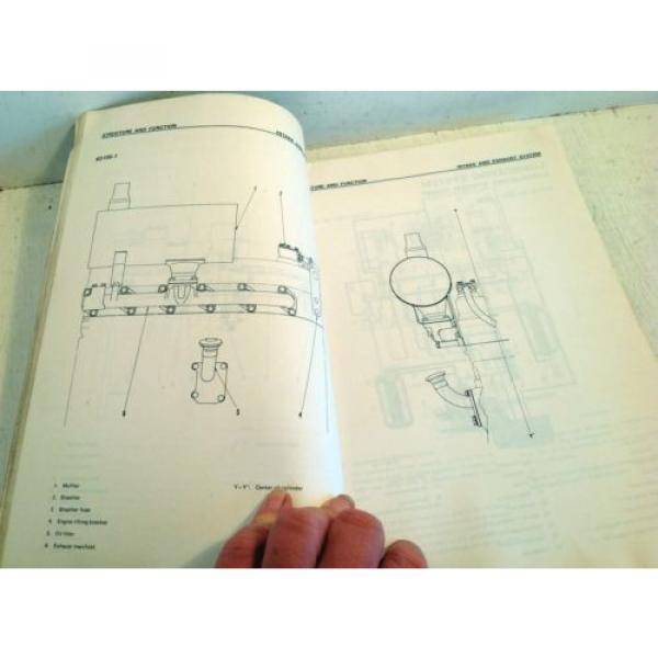 Komatsu Forklift Shop Manual 6D105-1 Series Diesel Engine, Service & Repair(3195 #5 image