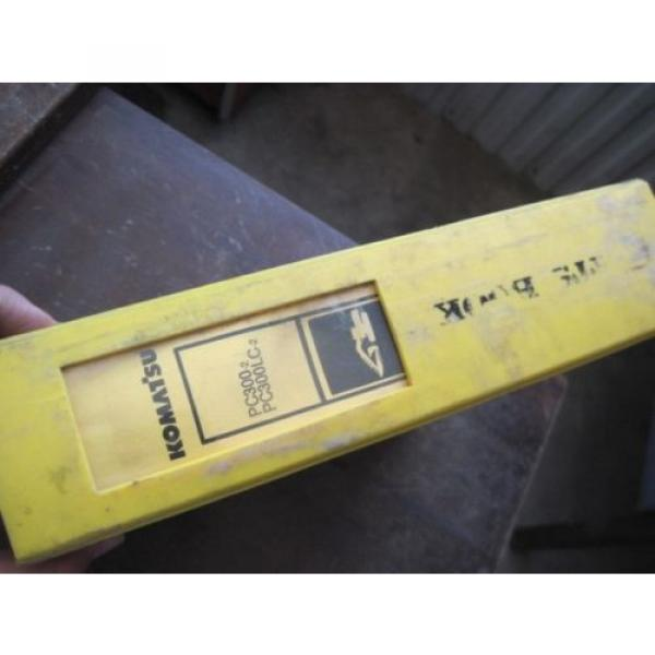 OEM KOMATSU Excavator PC300-2 PC300LC-2 PARTS Catalog Manual Book #2 image