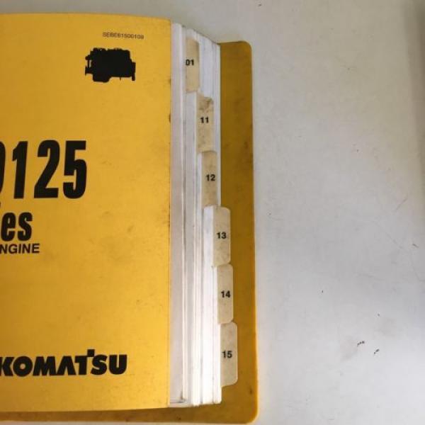 Komatsu 6D125 Series Diesel Engine Manual Dozer Grader Excavator Loader, Mining #5 image