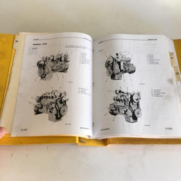 Komatsu 6D125 Series Diesel Engine Manual Dozer Grader Excavator Loader, Mining #6 image