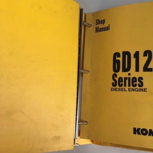 Komatsu 6D125 Series Diesel Engine Manual Dozer Grader Excavator Loader, Mining #7 image