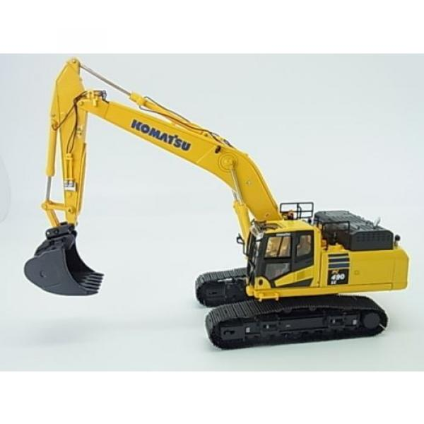 New! Komatsu hydraulic excavator PC490LC-10 Diecast model 1/50 f/s from Japan #1 image
