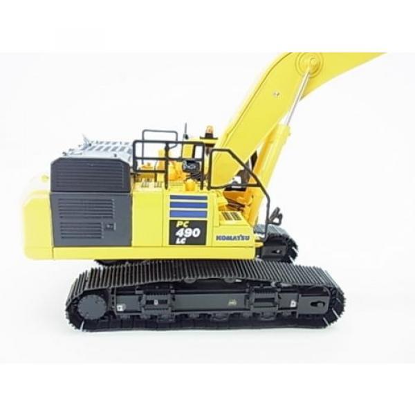 New! Komatsu hydraulic excavator PC490LC-10 Diecast model 1/50 f/s from Japan #2 image