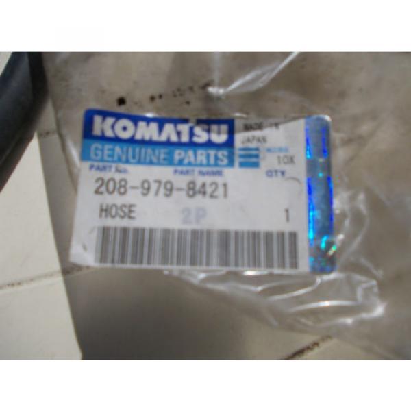 KOMATSU  HOSE, PART NO 208-979-8421 Genuine Replacment #4 image