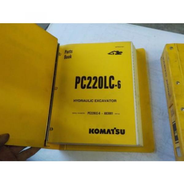 Komatsu PC220LC-6  Parts Book #1 image