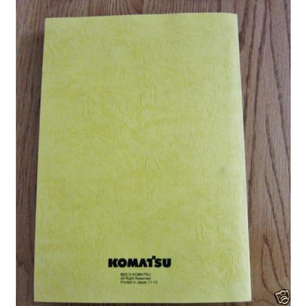 KOMATSU HYDRAULIC EXCAVATOR PC228USLC-10 PARTS BOOK SER # 1001 AND UP #4 image