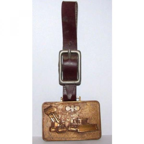 Vintage Wabco kOMATSU Crawler Loader Dozer Pocket Watch Fob JAPAN Construction #3 image
