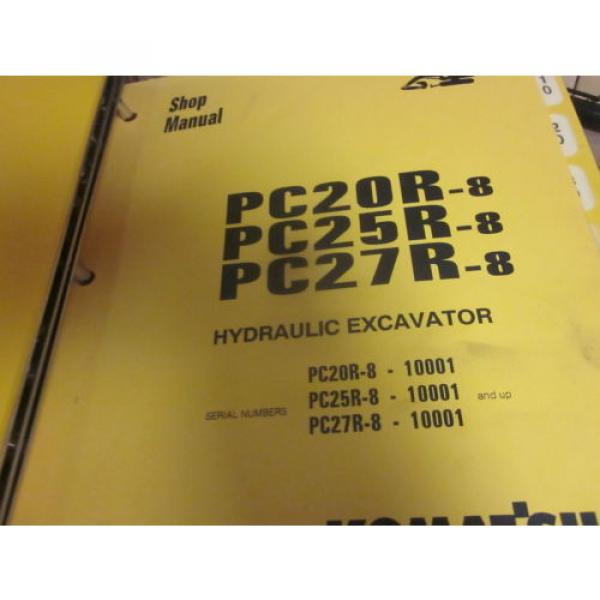 Komatsu PC20R-8 PC25R-8 PC27R-8 Hydraulic Excavator Repair Shop Manual #1 image