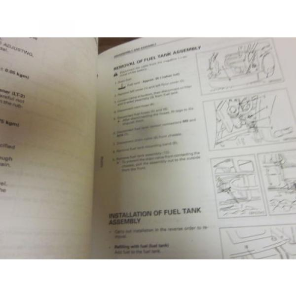 Komatsu PC20R-8 PC25R-8 PC27R-8 Hydraulic Excavator Repair Shop Manual #2 image