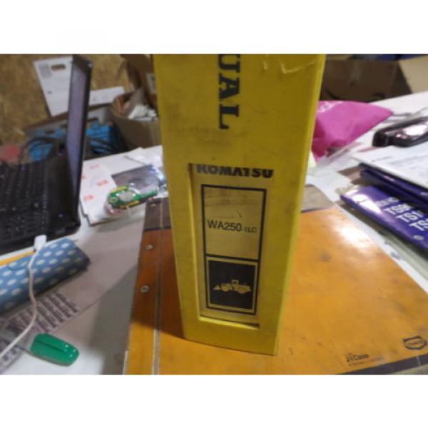 KOMATSU WA250-1LC WHEEL LOADER SHOP MANUAL S/N A65001 & UP #1 image
