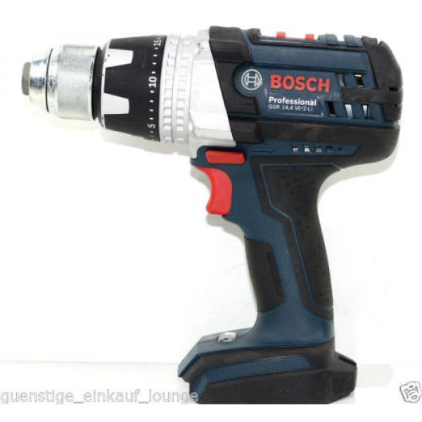 Bosch Cordless screwdriver GSR 14,4 VE-2 LI Solo #1 image
