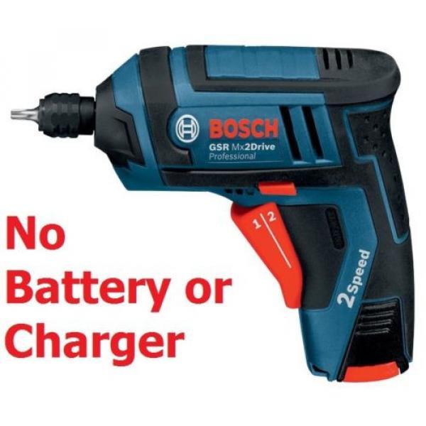BareTool - GSR Mx2DrivePRO Cordless Screwdriver Drill 06019A2170 3165140575577' #1 image