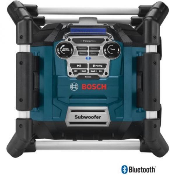 New Water Resistant Cordless Bluetooth Capability Jobsite Radio 18v Job Site #1 image
