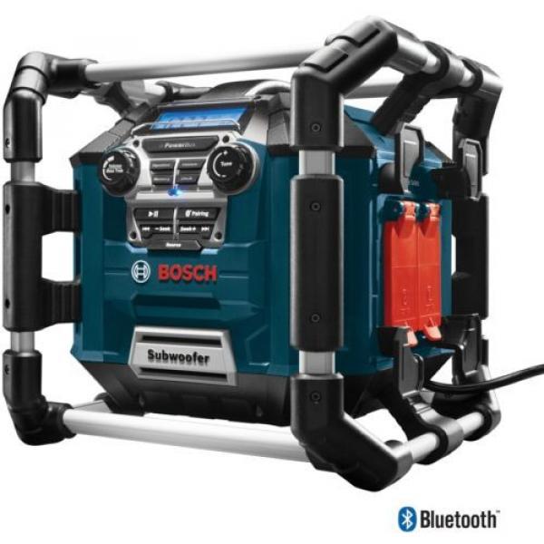 New Water Resistant Cordless Bluetooth Capability Jobsite Radio 18v Job Site #3 image