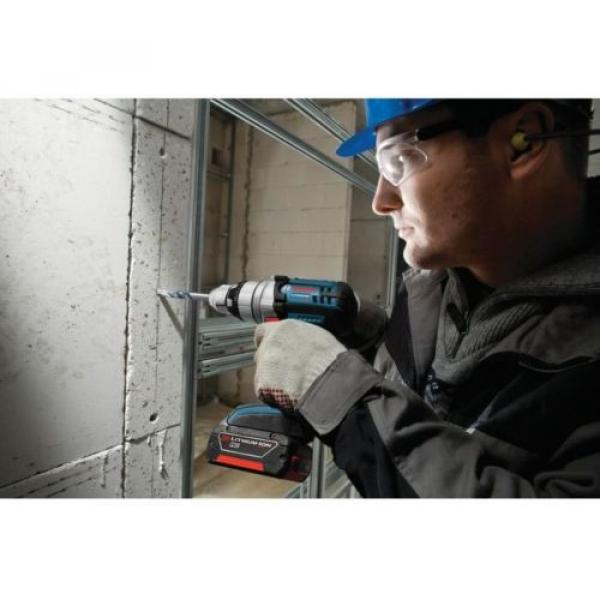 Hammer Drill Driver Cordless Standard Duty Variable Speed 18 Volt Lithium-Ion #4 image