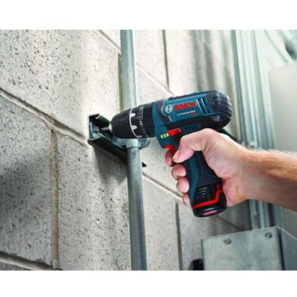 12-Volt Lithium-Ion Cordless Drill Driver and Impact LED Light 2 Tool Combo Kit #5 image