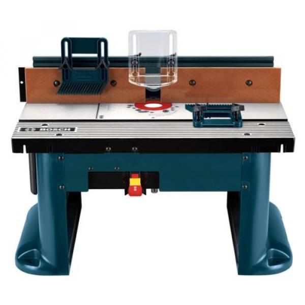 Bosch ( RA1181) Benchtop Router Table Includes 2 adjustable featherboards Tools #1 image
