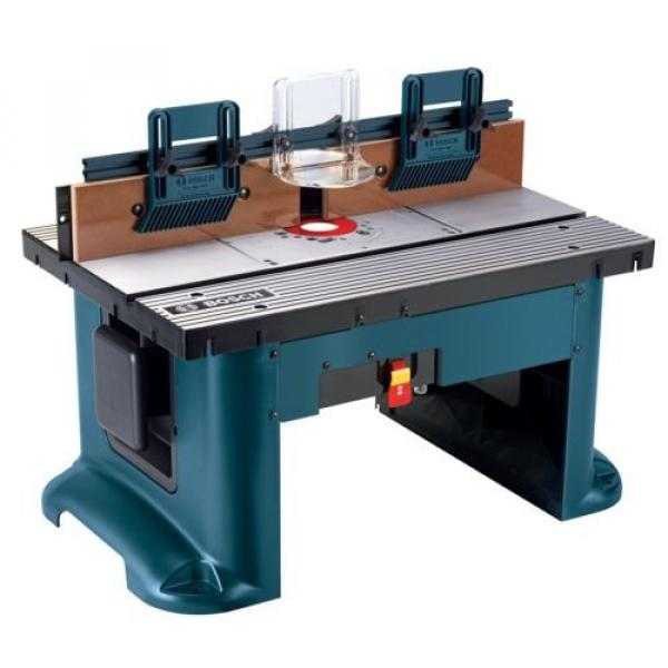 Bosch ( RA1181) Benchtop Router Table Includes 2 adjustable featherboards Tools #2 image