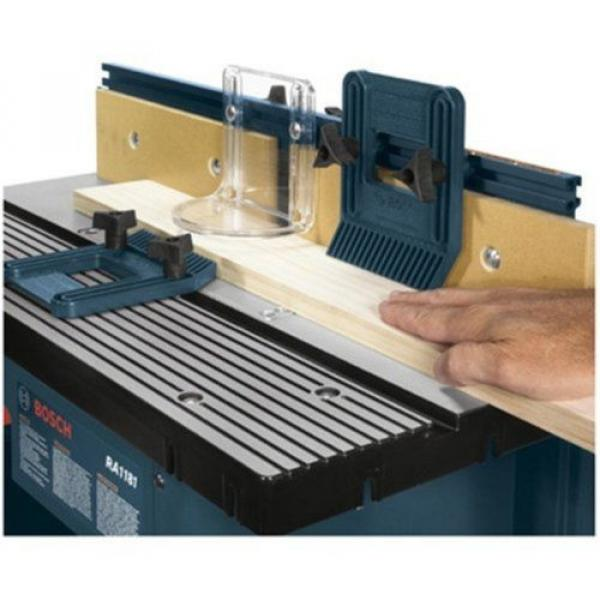 Bosch ( RA1181) Benchtop Router Table Includes 2 adjustable featherboards Tools #4 image