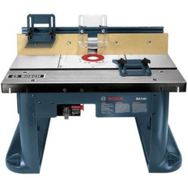 Bosch ( RA1181) Benchtop Router Table Includes 2 adjustable featherboards Tools #5 image