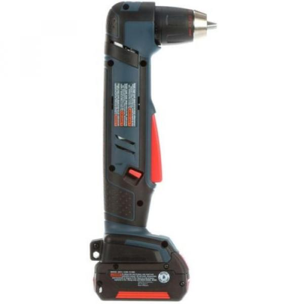 Cordless Right Angle Drill Variable Speed Keyless Chuck 18 Volt Lithium-Ion Kit #3 image