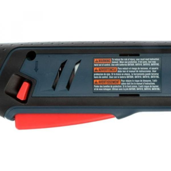 Cordless Right Angle Drill Variable Speed Keyless Chuck 18 Volt Lithium-Ion Kit #8 image