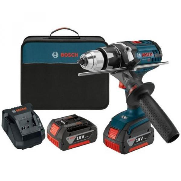 Cordless Electric Variable Speed Tough Drill Driver 18 Volt Lithium-Ion Kit #1 image